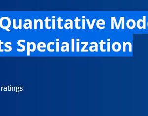 Finance & Quantitative Modeling for Analysts Specialization