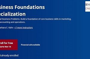 Business Foundations Specialization
